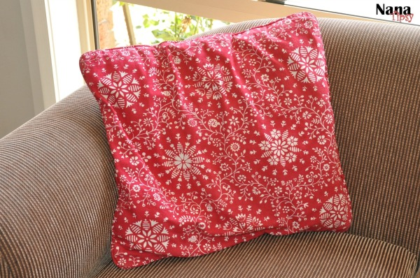 Sad cushion - before